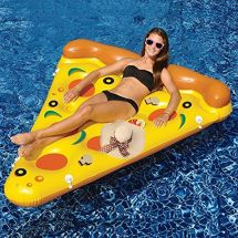 Inflatable Lake River Water Float Pizza Raft Lounge