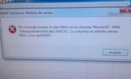 error saint 9022