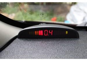 Park sensor display