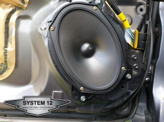 Aerpro speaker mounts with Alpine S Series
