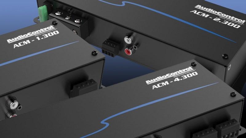 Audio Control ACM series amplifiers