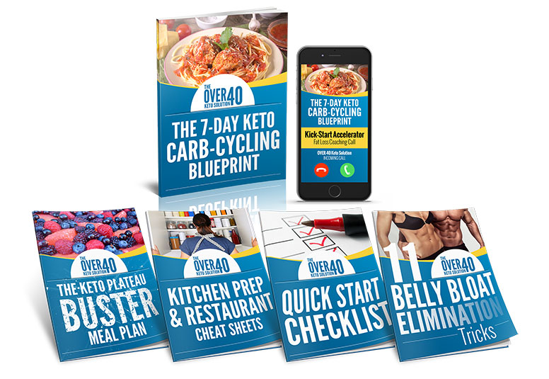 Over 40 Keto Solution bonuses