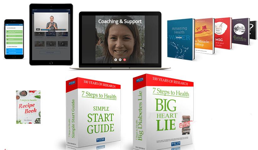 7 Steps To Health Big Heart Disease Lie bonuses