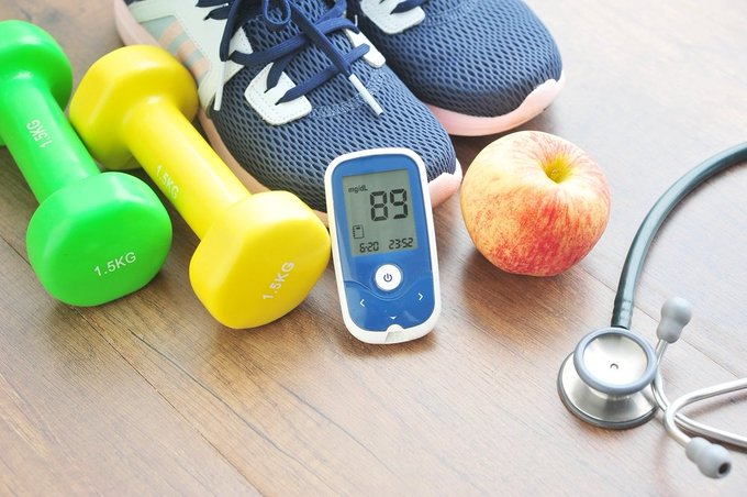 Importance of Exercising and Healthy Diet When You Have Diabetes
