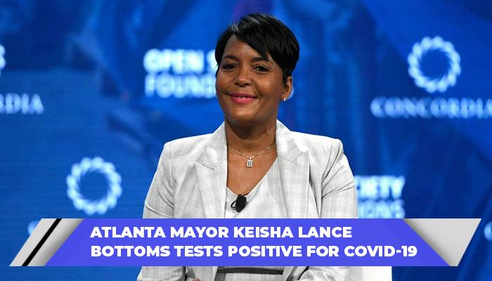 Atlanta Mayor Keisha Lance Bottoms Tests Positive For COVID-19 (1)