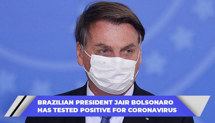 Brazilian President Jair Bolsonaro Has Tested Positive For Coronavirus