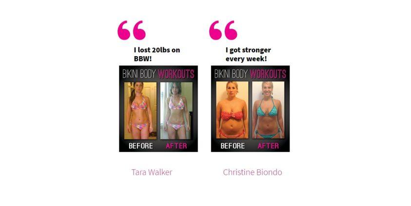 bikini body workout 60 day transformation