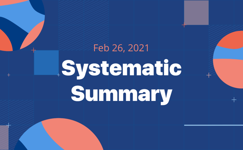 The Systematic Summary: 2/26-image