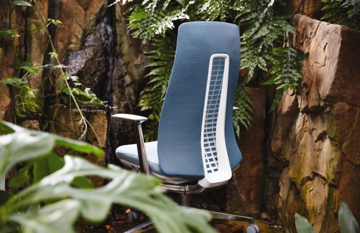 posture chair work white wood folding chairs haworth - fern systemcenter