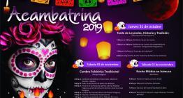 """El """"Acambatrina 2019"""", opción para preservar la cultura mexicana"""