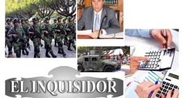 """El Inquisidor: Bajo la austeridad, el desfile del """"22 de octubre"""". ¡Entre una auditoría te veas!. ¿Hubo bloqueo al evento del """"22 de octubre""""?. El Gobierno monárquico de René Mandujano."""
