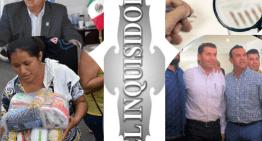 """El Inquisidor: Entregarán despensas a 10 mil personas de Acámbaro. Lucha al interior del PRD: Nueva Izquierda contra ADN. Reacomodos de """"militantes"""" en los partidos políticos. """"Ales"""" Tirado suspende el pago de la deuda pública municipal."""