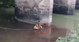 Localizan un cuerpo en el Río Lerma, en la zona del Puente de Piedra