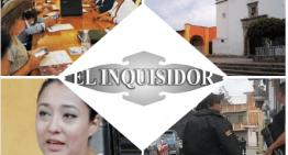 El Inquisidor: Sesiones virtuales para los 46 Ayuntamientos. Vigilan los sitios públicos sanitizados. Que la 'Rugidora' Carol Castañeda supervisa el trabajo sanitario. Sigue la inseguridad en el municipio de Acámbaro.