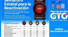 """Anuncian en Guanajuato un """"semáforo estatal"""" de cuatro colores"""