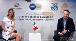 Egresa la Primera Generación de la  Escuela de Talentos Guanajuato Azteca
