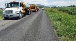 SICOM aplica más de 161 MDP  para conservar carreteras en 9 municipios