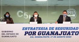 "Anuncia Gobernador Estrategia ""Por un Guanajuato Seguro""."