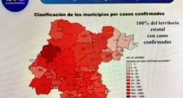 Con 8 decesos, Guanajuato llegó a 2,134 durante la pandemia
