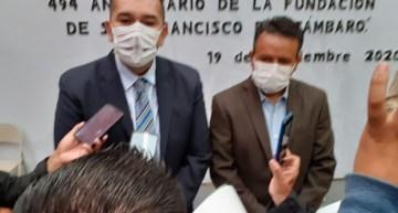 Alejandro Tirado y Luis Magdaleno  anuncian gestiones de obras para el municipio