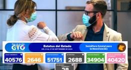 El Estado de Guanajuato registra 2,688 decesos y Acámbaro llegó a 28