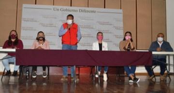 Se reúne el Alcalde Alejandro Tirado,  con Delegados Municipales