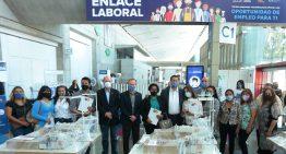 Realizan la Feria de Enlace Laboral con más de 30 empresas que ofrecen 1, 249 vacantes