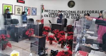 Instala INE-Guanajuato 15 Consejos Distritales  para el Proceso Electoral Federal 2021