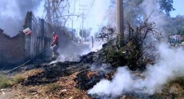 Protección Civil hace  un llamado para no generar incendios