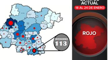 Acámbaro suma 1 deceso más y ya tiene 113; Guanajuato llegó a 6,841