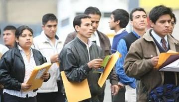 Reportan que hay  más personas con necesidad de empleo