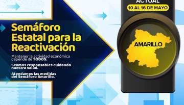 Semáforo Epidémico Estatal hasta el 16 de mayo