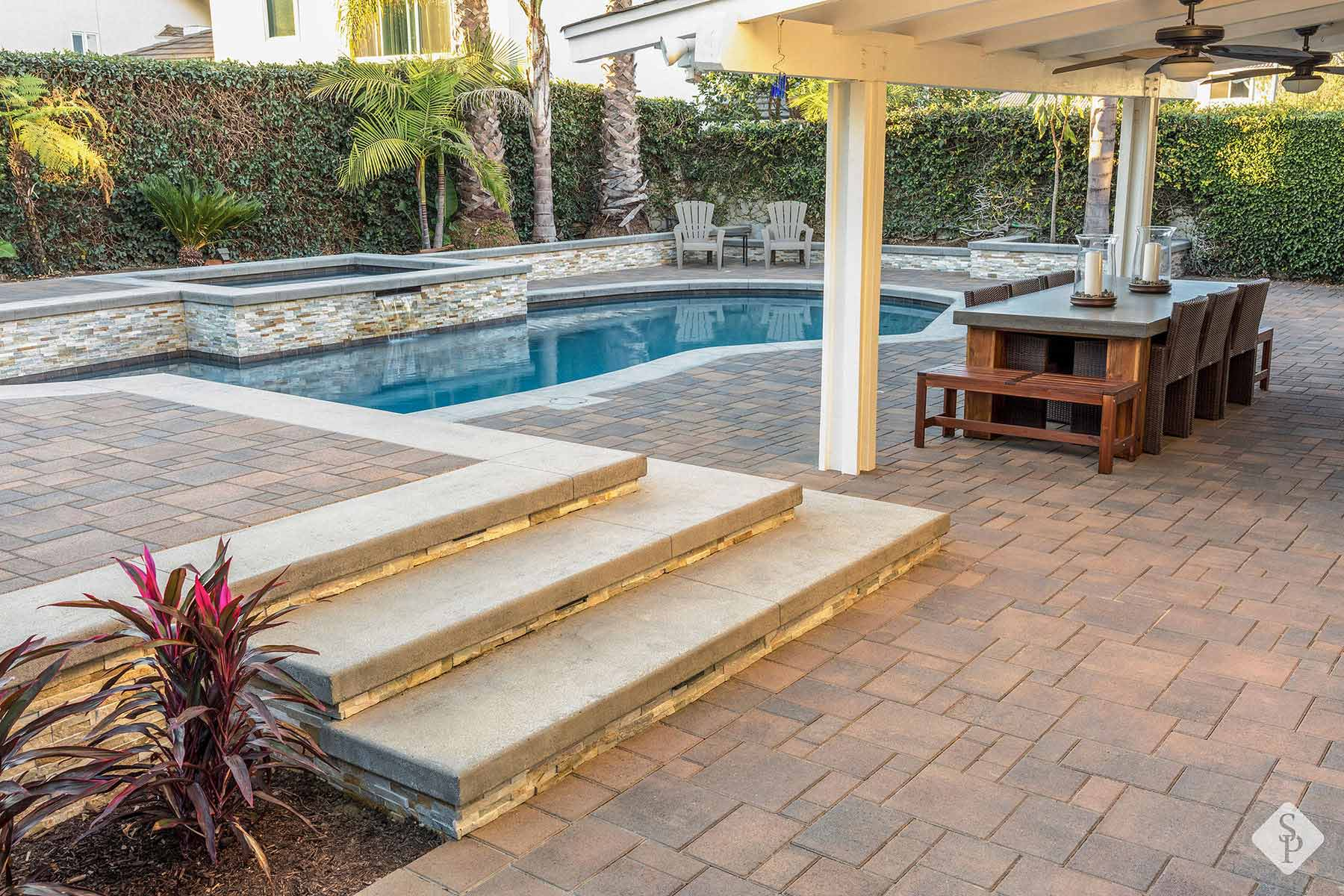 pool pavers remodeling installation
