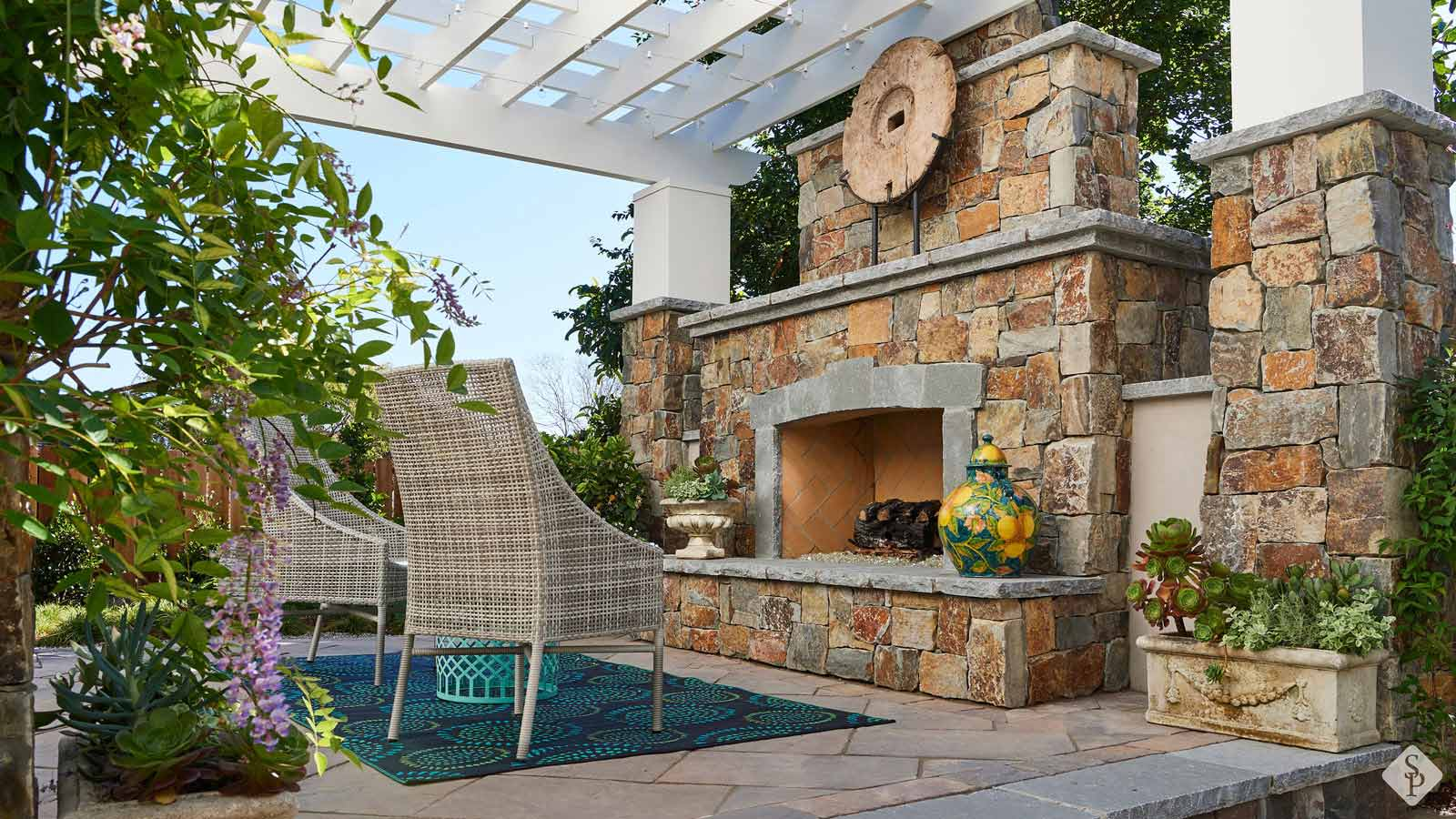 Elevate Your Backyard With An Outdoor Fireplace