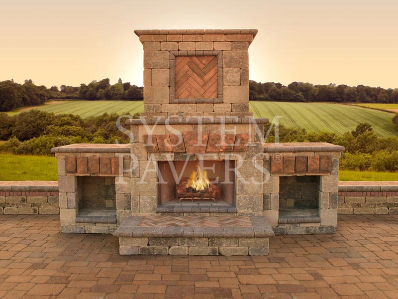 Outdoor Fireplace Outdoor Gas Propane and Wood Fireplaces