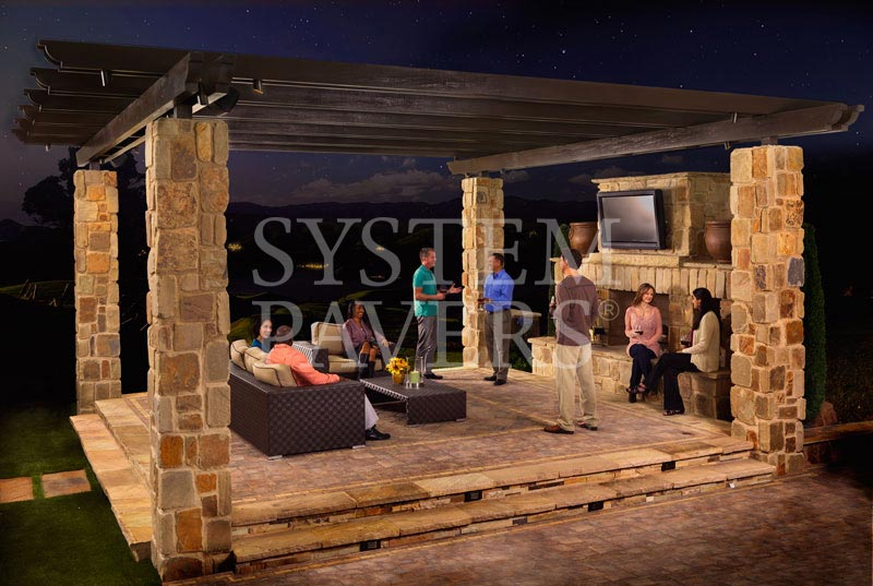 Pergolas Covered Outdoor Pergolas For Backyard Shade