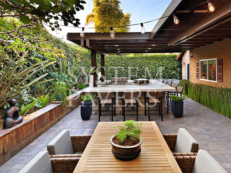 Pergolas Covered Outdoor Pergolas For Backyard Shade