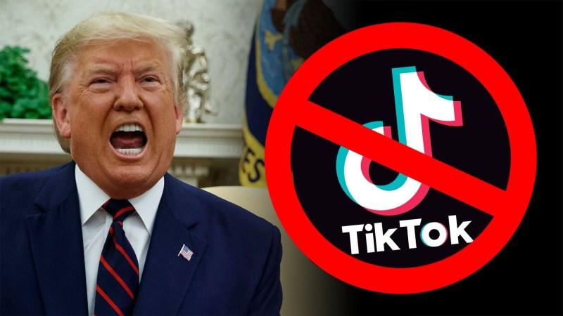 Trump bans Tiktok and WeChat
