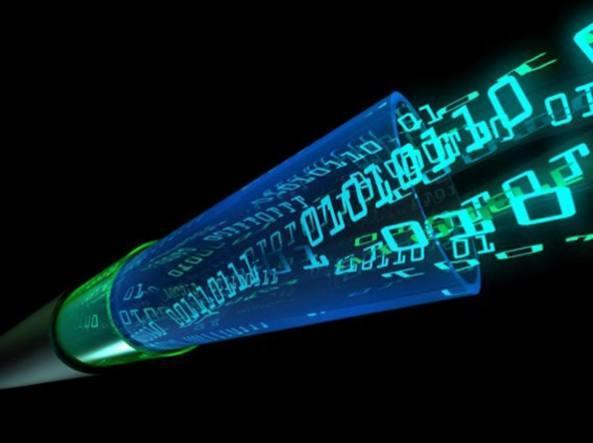 Fiber optic transmission represents the future of telecommunications.