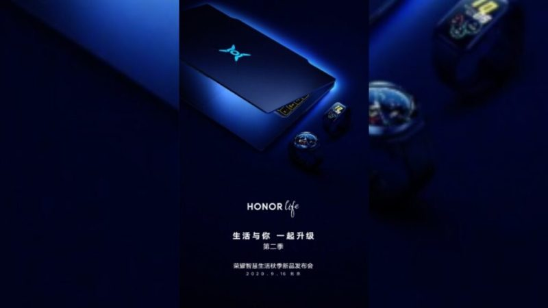 The official poster of Honor Hunter, the first Huawei gaming laptop. Credits: gizchina.it
