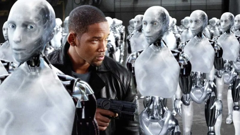 The 2004 film I, Robot inspired by the eponymous collection of science fiction short stories by writer Isaac Asimov, also addresses the question of empathy in robots. Credits: CDN