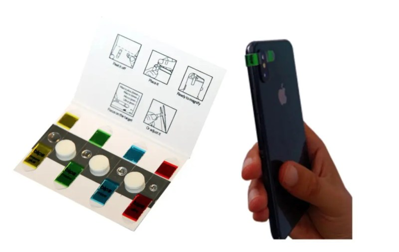 With SMO's Blips lenses you can turn your smartphone into a microscope