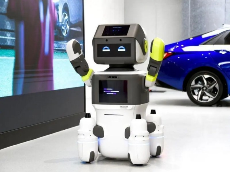 The spread of this new technology in Hyundai showrooms will be favored by the recent acquisition of Boston Dynamics, already a leader in the automation sector. Credits: DealerLink