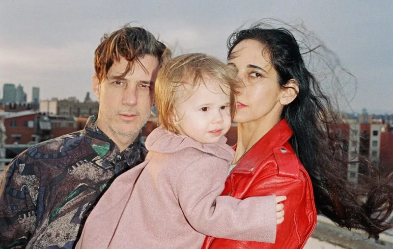 "Luca Yupanqui with his parents. The little girl ""recorded"" the ""Sounds of the Unborn"" album when she was still a fetus. Credits: NME"