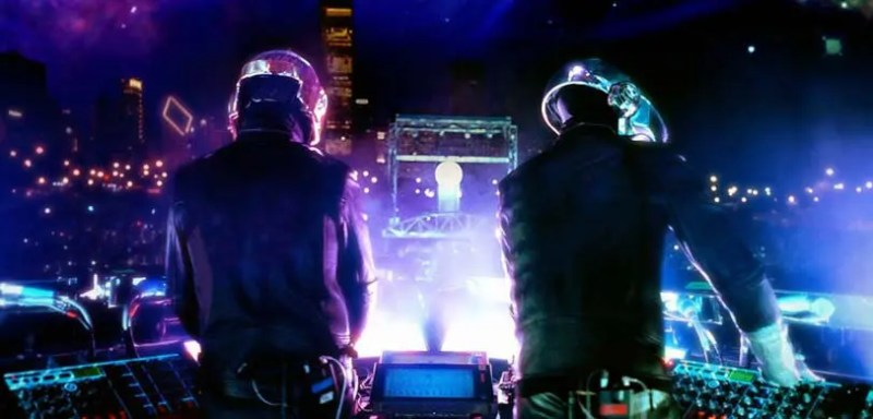Daft Punk during a performance. Source: Vivid Seats