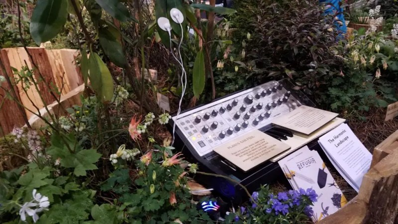 "A ""concert"" of plants through the MIDI biodata sonification device. Credits: Statistics2015 (Reddit)"