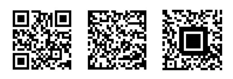 Types of QR code.