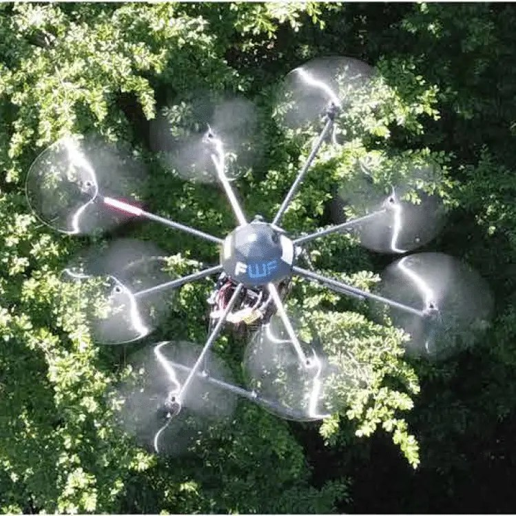 The drone that can see behind obstacles. Source: Johannes Kepler University