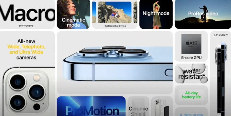 Apple event: announcements and all the news of Iphone 13 Pro and Pro Max