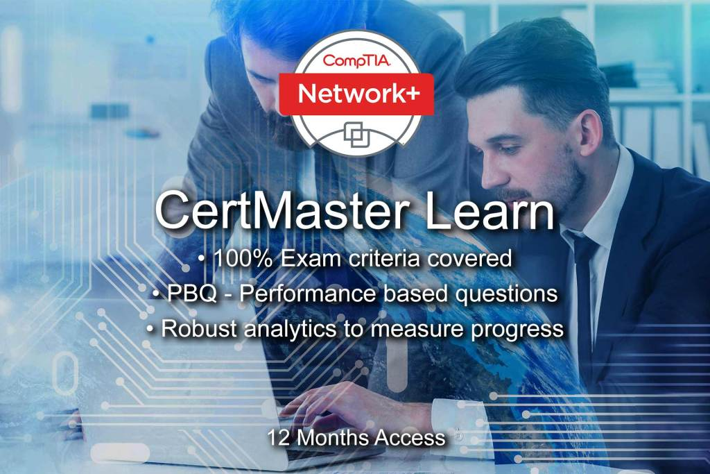 The most complete and effective system doe learning CompTIA Network+